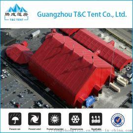 大型铝合金活动帐篷 工业仓储篷房