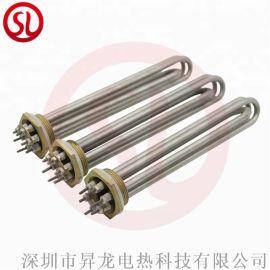 空气干烧加热管一字型电热管烘箱加热管