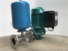 wuodor铸铁单级离心管道泵GD50-160变频