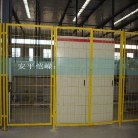 定制喷塑车间隔离网 低碳钢丝仓库车间隔离