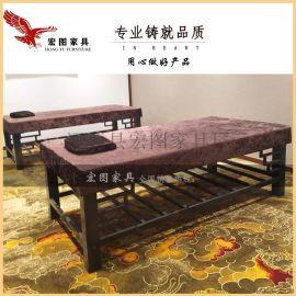 铁艺按摩床、铁艺美容床