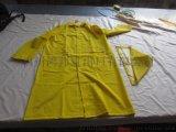 廠家供應連體雨衣 PVC貼布革出口勞保長衫雨衣 PVC rain suit