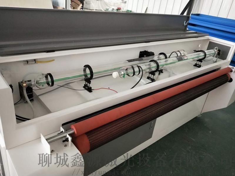 毛绒布料皮革激光切割机自动送料裁床