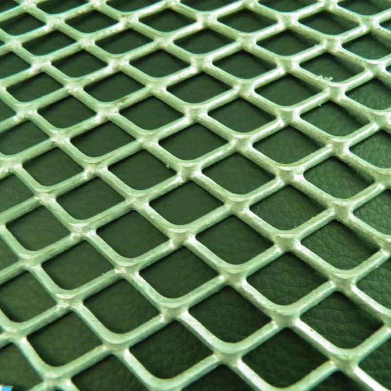 耐腐蚀钢板网 菱形钢板网 铝拉网