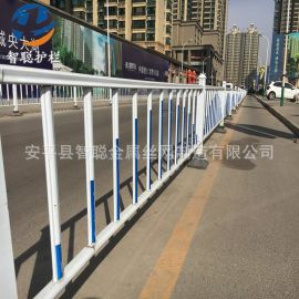 【道路护栏】定制批发交通隔离护栏 锌钢道路护栏 供应市政护栏