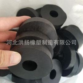 圆形减震缓冲橡膠墊 耐油橡膠墊 可定做