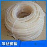 白色食品级硅胶条 耐磨耐高温实心抗老化硅胶条