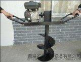 小型汽油地鉆 汽油鉆眼機 雙人操作挖坑機