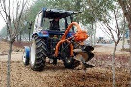 冻土钻坑机 黑土地汽油挖坑机 拖拉机带动打坑机