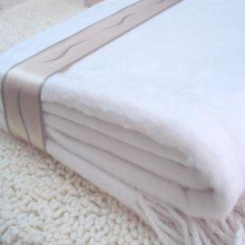 外貿披肩供應 100%竹纖維雙面絨提花大披肩 廠家提供OEM貼牌