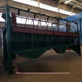 有机肥生产线设备,翻堆机发酵有机肥生产线滚筒筛