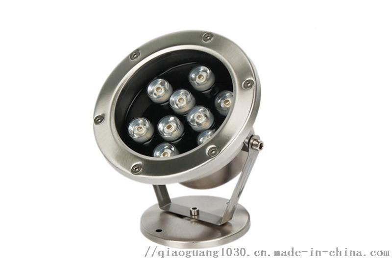 LED大功率水底燈花園別墅庭院水池泳池燈低壓12V
