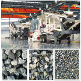 移动山石破碎机 反击式砂石破碎机生产线