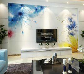 艺术背景墙琉璃艺术背景精雕幻彩时尚家居装饰