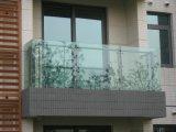 阳台护栏 YC-02B  玻璃夹夹玻璃阳台