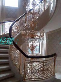 浙江豪华装饰护栏 铝板雕刻护栏生产批发