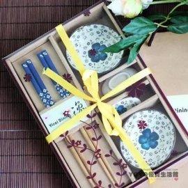 日韓陶瓷食具套裝禮品碗筷子商務開業慶典會銷禮品廠家直銷