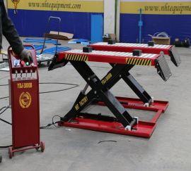 可移动汽车升降机 剪式移动举升机 超低一米