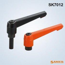 供应SANKQ牌,SK7012锌合金可调手柄,锁紧把手,万向把手,固定把手