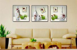 郑州子靖装饰画,无框画,烤瓷水晶