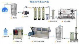 全自动桶装纯净水设备