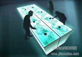 桌面互动投影 桌面互动触摸投影系统-山东金码筑科技