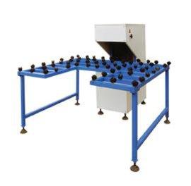 玻璃磨边机带工作台中空玻璃生产线设备玻璃加工 SM95砂带磨边机
