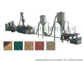 福田机械PVC热切造粒生产线