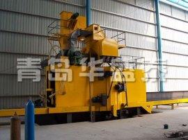 通过式钢材除锈设备、通过式抛丸清理机Q6910