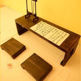 幼儿园国学教室 仿古课桌定做 国学桌椅厂家直销
