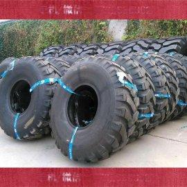 供应矿王**压路机轮胎18.00-24 **耐磨价格合理1800-24斜交工程轮胎
