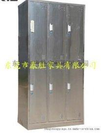 食品厂车间用不锈钢四门 衣柜