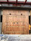 西安仿古大门,榆木大门,铜钉大门,松木大门