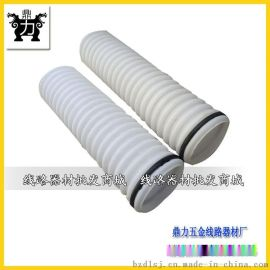 HDPE双壁波纹管 白色波纹穿线管  直径110小波纹管