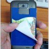 硅胶卡套贴手机擦定制 超细纤维布手机擦定制