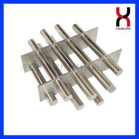 厂家定做钕铁硼除铁棒 强磁磁力棒 强力磁力架 不锈钢强力磁棒