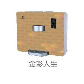 家用净水机十大品牌革隆纯水机招商加盟 加热型台上机 RO反渗透净水机