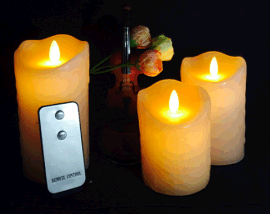 HC-010-AAA电池包腊摇摆蜡烛 LED蜡烛 创意电子礼品