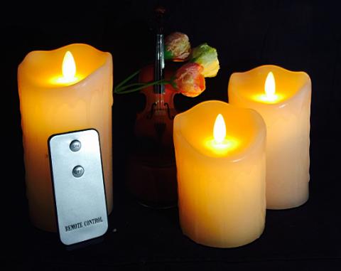HC-010-AAA電池包臘搖擺蠟燭 LED蠟燭 創意電子禮品