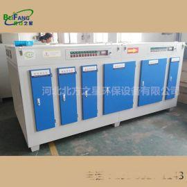 uv光氧催化废气处理设备光解烤漆喷油漆、除臭等离子净化器环保箱