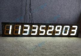 9位计数器看板数码计数屏工业计数LED电子看板正计时**器