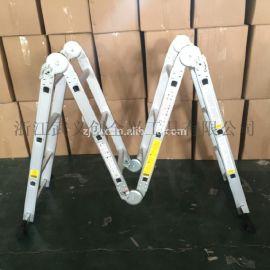 多功能家用梯折叠梯子铝合金加厚人字伸缩梯工程梯阁楼直梯子