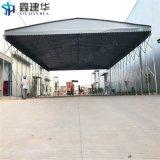 上海推拉雨棚伸缩移动嘉定推拉雨棚骨架设计图