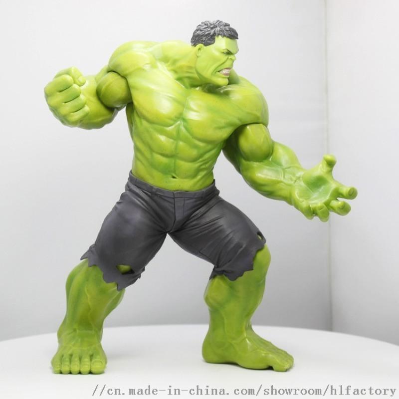 厂家定制 SHF 绿巨人 浩克 可动手办玩具