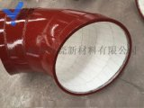 陶瓷耐磨弯头内衬陶瓷弯头厂家直销贴衬陶瓷片弯头