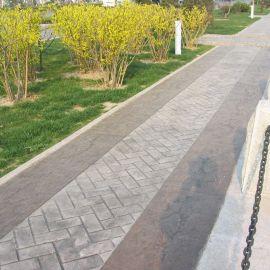 亚威供应腾冲市Y40水泥压花|压模|混凝土压花地坪材料|透水地坪厂价直销