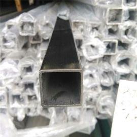 玫瑰金不锈钢柜形管30*80*1.2服装展示架