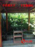 青色陶瓷純手工洗浴大缸廠家定做  極樂湯泡澡缸 洗澡缸廠家供應