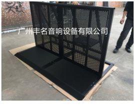 演出观众护栏 铝合金可折叠防爆栏 观众防爆栏批发