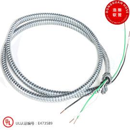 高质量金属软管 美标UL穿线管 镀锌软管
